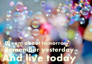 Dream about tomorrow