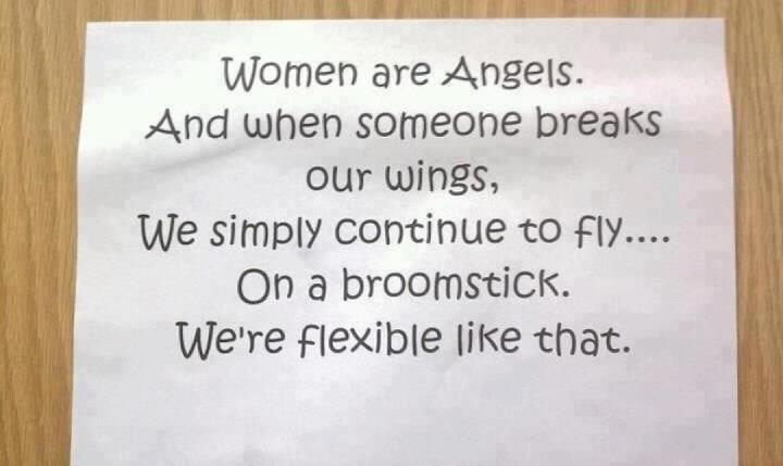 Woman are Angels