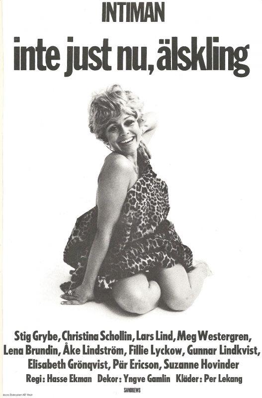19700911 Inte just nu, älskling