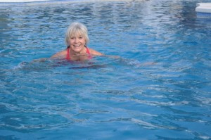 Christina i poolen