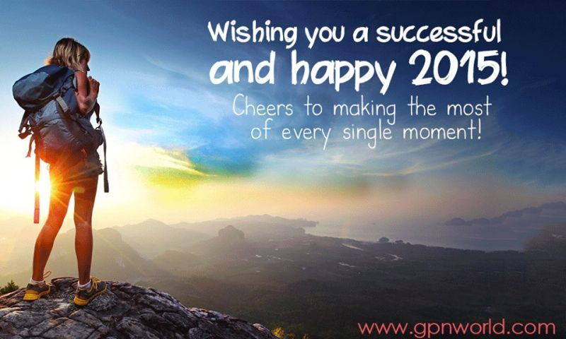 Wishing you a happy 2015