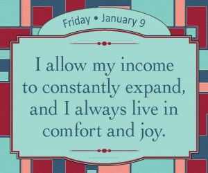 I allow my income