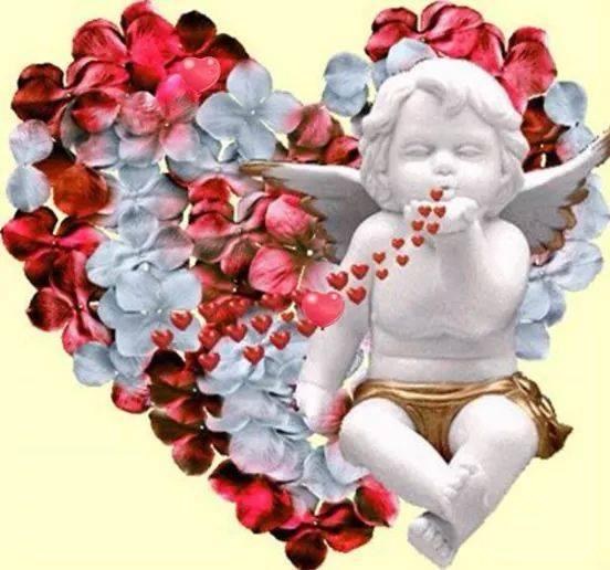 Ängel m hjärtan