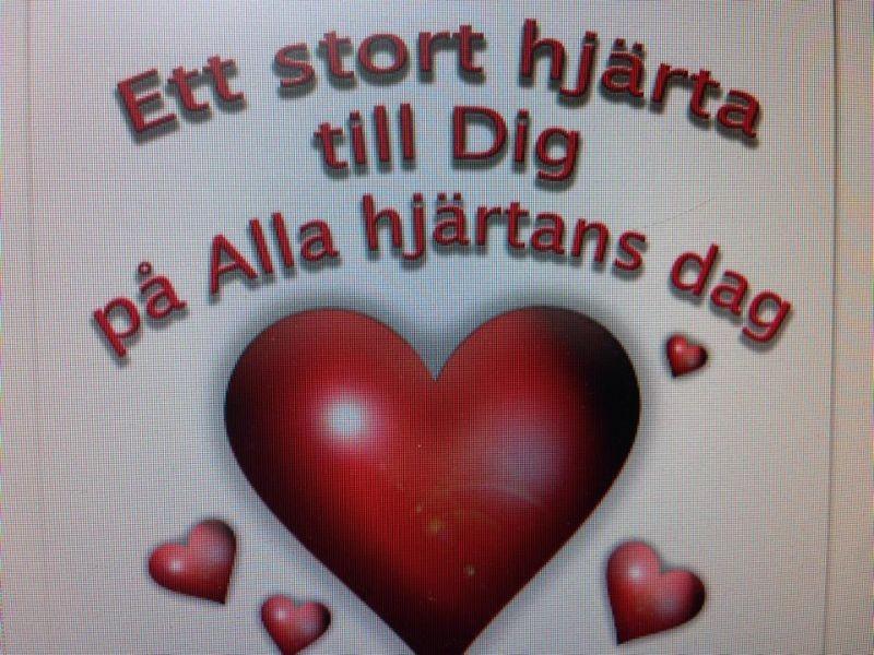 Hjärta på alla hjärtans dag