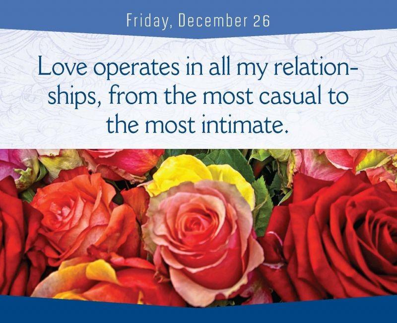 Love operates